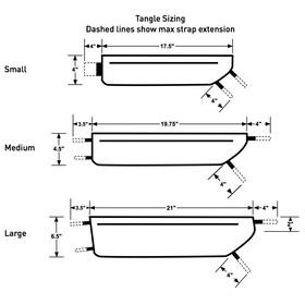 Revelate Designs Tangle Cykeltaske M sort